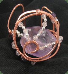 bracelet amethyst