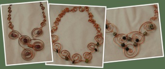 View Swirl Necklaces