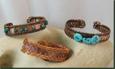 woven bracelets